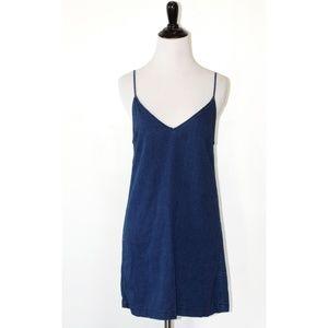 Wilfred Free Denim Sleeveless Slip Dress XXS